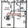 1-комнатная квартира, НОВОСИБИРСК, ВИТАЛИЯ ПОТЫЛИЦЫНА 7