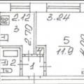 1-комнатная квартира, ул. Большая Санкт-Петербургская