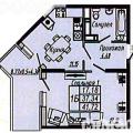 1-комнатная квартира, УЛ. ГАРАЖНАЯ, 156