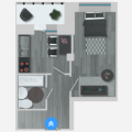 1-комнатная квартира, Б-Р. АРХИТЕКТОРОВ, 25
