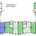 3-комнатная квартира, УЛ. В.М.ШУКШИНА, 2