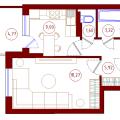 1-комнатная квартира, УЛ. 9 ЯНВАРЯ, 175
