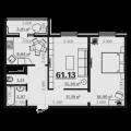 2-комнатная квартира, УЛ. ШЕРЕМЕТЬЕВСКАЯ, 8