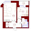 1-комнатная квартира, ПР-КТ. МОСКОВСКИЙ, 104В