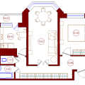 2-комнатная квартира, ПР-КТ. МОСКОВСКИЙ, 104В