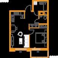 1-комнатная квартира, ПР-КТ. ГЕРОЕВ, 33