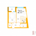 2-комнатная квартира, УЛ. АКСАКОВА, 81