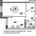 1-комнатная квартира, УЛ. 40 ЛЕТ ПОБЕДЫ, 12