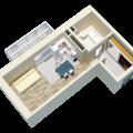1-комнатная квартира, ИРКУТСК, КИРЕНСКАЯ  48