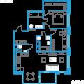 2-комнатная квартира,  пр-кт. Дальневосточный, 12 к1