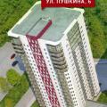 2-комнатная квартира, УЛ. ПУШКИНА