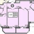 3-комнатная квартира, УЛ. ТРУЖЕНИКОВ, 33А