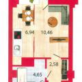1-комнатная квартира, УЛ. ПЕРЕЛЕТА, 27СТР