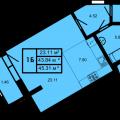 1-комнатная квартира, КАЗАНЬ, ОРЕНБУРГСКИЙ ТРАКТ 8