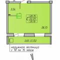 1-комнатная квартира, ул. К. Маркса 1