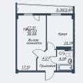1-комнатная квартира, ЧЕРЕПОВЕЦ, М. ГОРЬКОГО 34