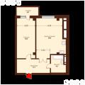 2-комнатная квартира, УЛ. ШАУМЯНА, 122
