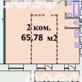 2-комнатная квартира, ПР-КТ. КОМАРОВА, 13 К1