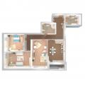 3-комнатная квартира, Отрадная