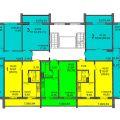 1-комнатная квартира, ТЕР. ГСК 508 ПО УЛ МОЛОДОВА М/БЛ 4-5
