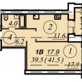 1-комнатная квартира, ЧЕРЕПОВЕЦ, УЛ. КОМСОМОЛЬСКАЯ 15