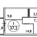 1-комнатная квартира, УЛ. КИРОВА, 78