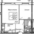 2-комнатная квартира, ТОМСК, АРХИТЕКТОРОВ 9