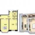 2-комнатная квартира, УЛ. ШВЕЦОВА, 8 СТА