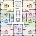 1-комнатная квартира, Б-Р. М.М.КУЗЬМИНА, 27
