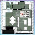 1-комнатная квартира, УЛ. ПОЛЕВАЯ, 105