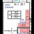 1-комнатная квартира, 2-Я ТРАМВАЙНАЯ, 39