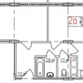 2-комнатная квартира, ул. Добросельская
