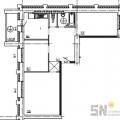 3-комнатная квартира, ул. Диктора Левитана