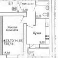 1-комнатная квартира, 1-Й ОКРУЖНОЙ ПР-Д , 4