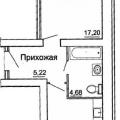 1-комнатная квартира, ПРОЕЗД. ОКРУЖНОЙ 1-Й,  СТ4