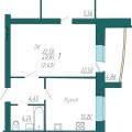 1-комнатная квартира, пр-т Шекснинский 16