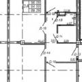 3-комнатная квартира, Гвардейская