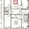 3-комнатная квартира, Б-Р. АРХИТЕКТОРОВ, 17 К2