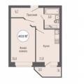 1-комнатная квартира, Ш. ЕЛЕЦКОЕ, 7А